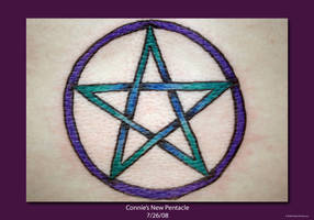 Freshly Inked Pentacle by ArielManx