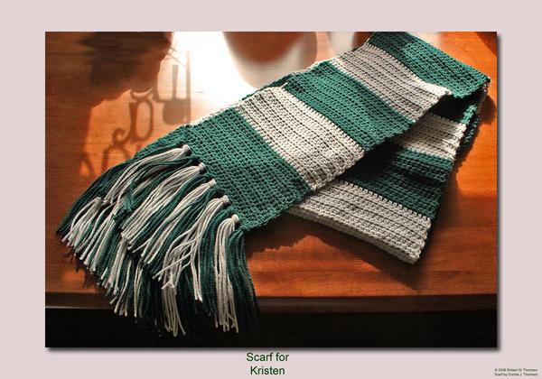 Slytherin Scarf Knitting Pattern : Slytherin Scarf Kiriban Detail by ArielManx on DeviantArt