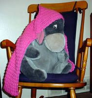 Hooded Baby Blankie for Abby by ArielManx