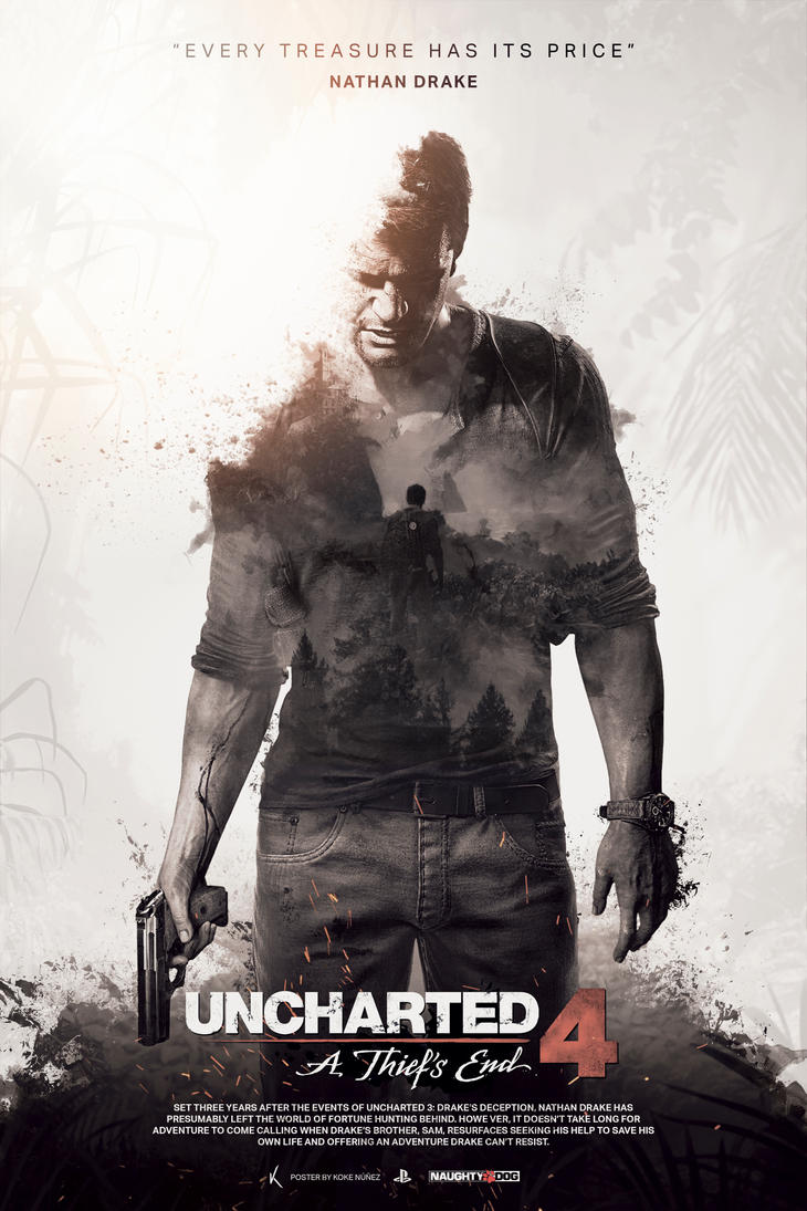 Uncharted 4: A Thief's End - Unofficial Poster by ...
