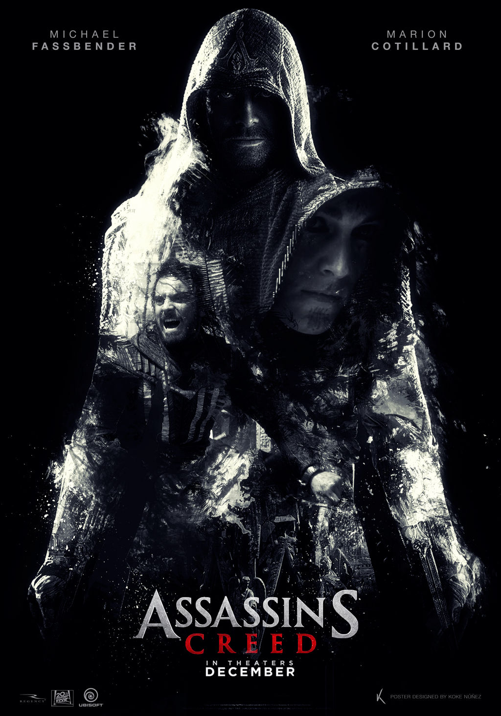 Assassin S Creed Movie Fan Poster By Kokenunezworks On Deviantart