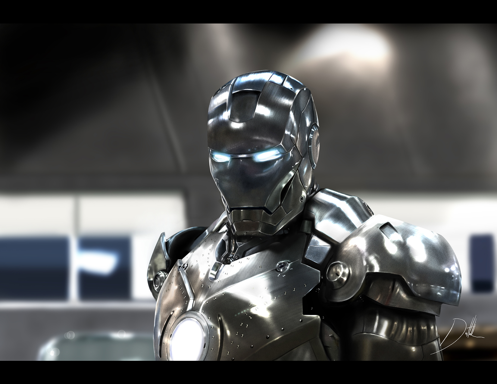 Movie study painting - Iron Man by CarlosDattoliArt