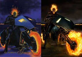 Ghost Rider 90's Pepsicard Redesign by CarlosDattoliArt
