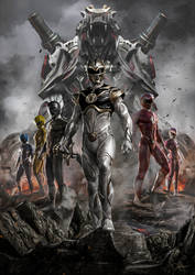 Power Rangers by CarlosDattoliArt