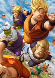 Dragon Ball by CarlosDattoliArt
