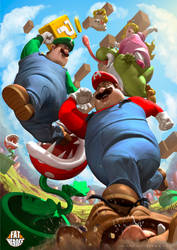 Mario Bross by CarlosDattoliArt