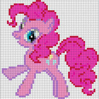 Pinkie Pie Sprite by Bobbeyjazz