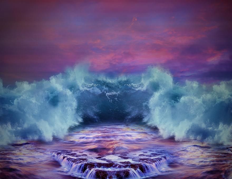 Engulfed Wave by pjenz