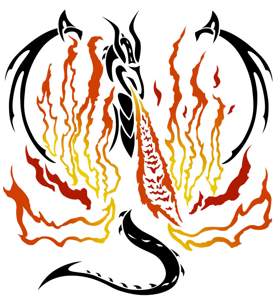Dragon Fire Tribal By NirvanaGenesis On DeviantArt