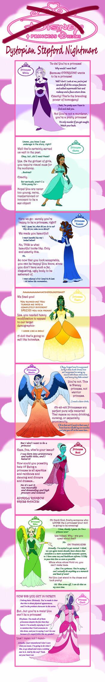 Disney Princess Nightmares