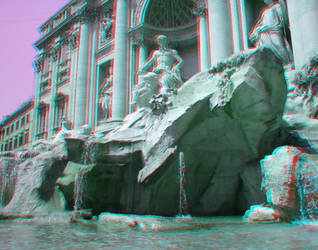 Trevi Fountain in 3D