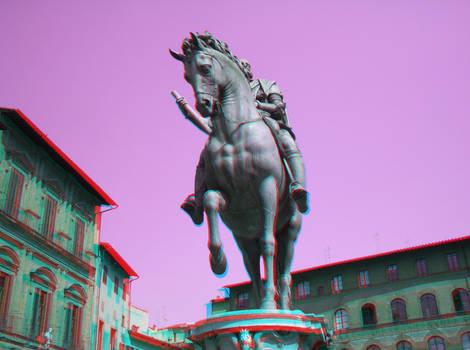 General on Horseback...in 3D