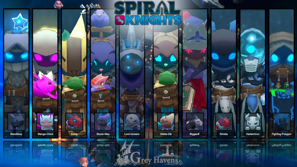 Lord-Quisers Friends [1 Year Playing Spiral Knight by Lord