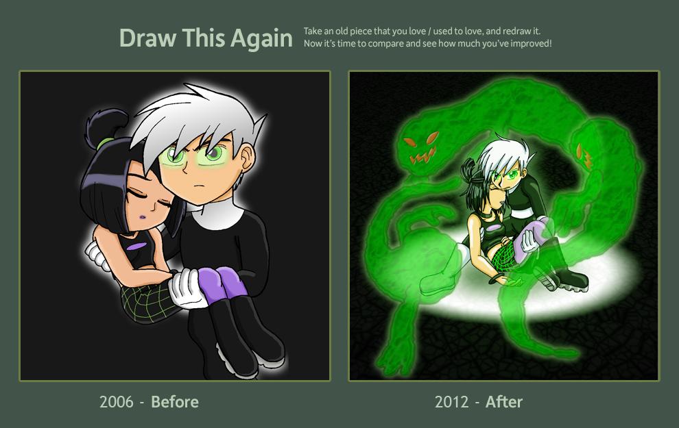 Draw This Again Challenge Danny Phantom By Tanjathebat