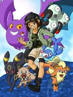 Pokemon Trainer 2017 by BellSeashell