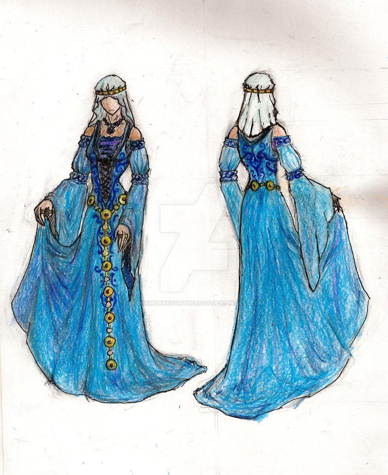 Medieval Dress Deisgn Contest By Drunkmonkeyontheroof On