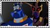 Sentinel x Blackarachnia stamp by supergeek17
