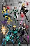 80s X-Men Colors