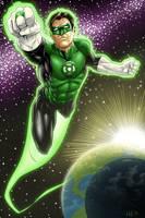 Green Lantern pg5 Colors
