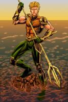 Aquaman Colors by Brian-Robertson