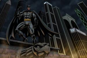 Batman Colors by Brian-Robertson