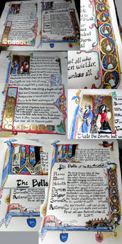 Illuminated Manuscript- Great Library of the Clayr