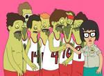 Tina and the boys