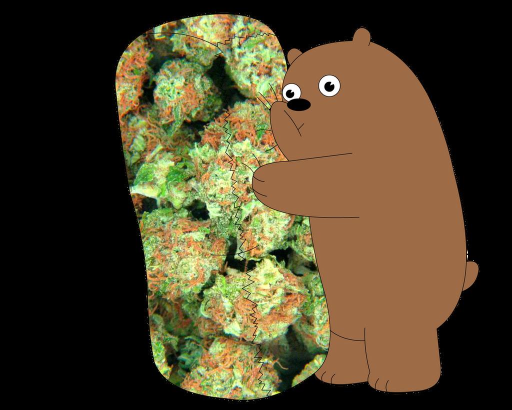 We Bare Bears, Weed burrito