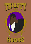 Thirsty Horse - Hat horse