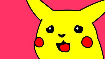 Pikachu shocked