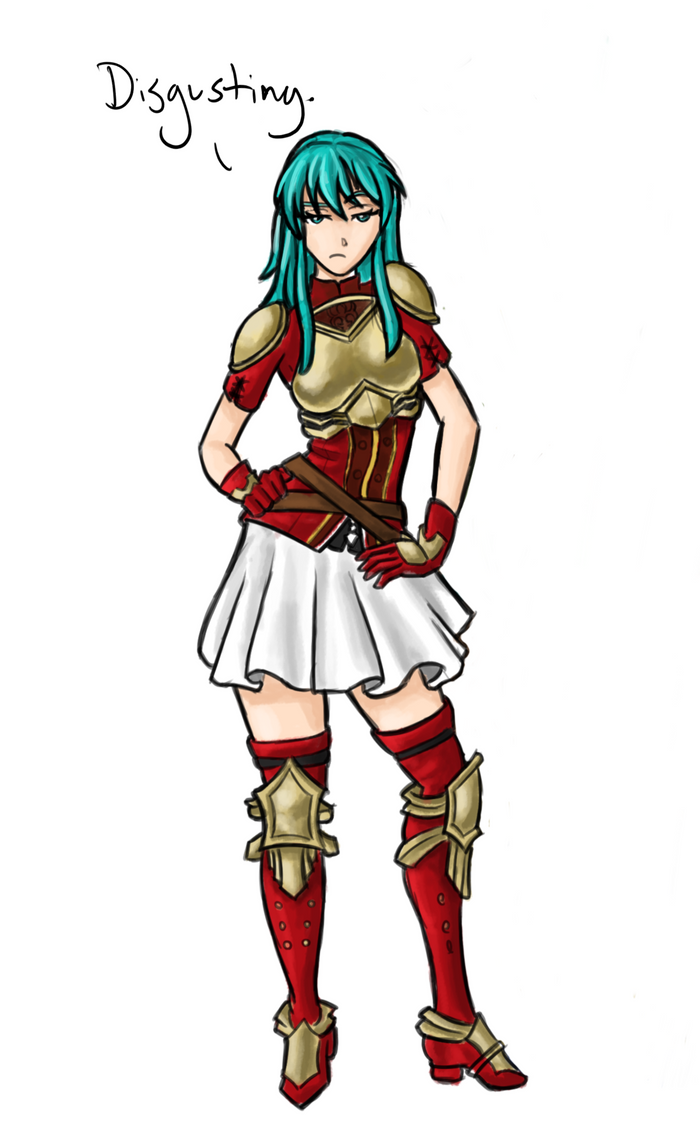 Judgmental Eirika (Fire Emblem: The Sacred Stones)