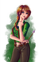Leah - Stardew Valley by itftjte