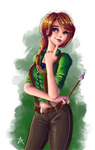Leah - Stardew Valley