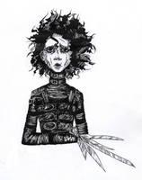 Edward Scissorhands by Vanilca