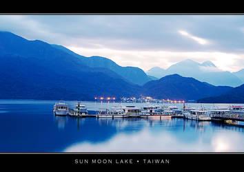 Morning at Sun Moon Lake