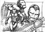 ironman sketch