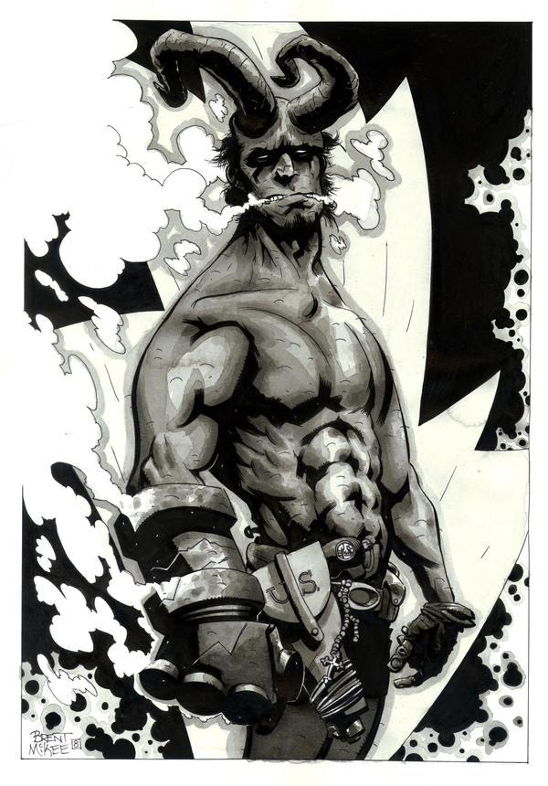 hellboy 13 by BrentMcKee