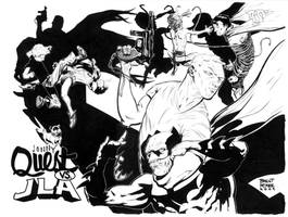 jonny quest vs. justice league by BrentMcKee