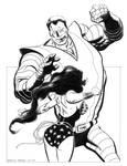 wonderwoman vs. colossus