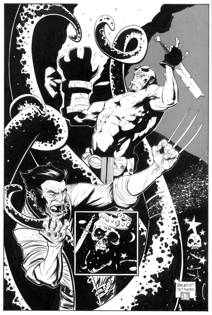 hellboy logan 3 by BrentMcKee