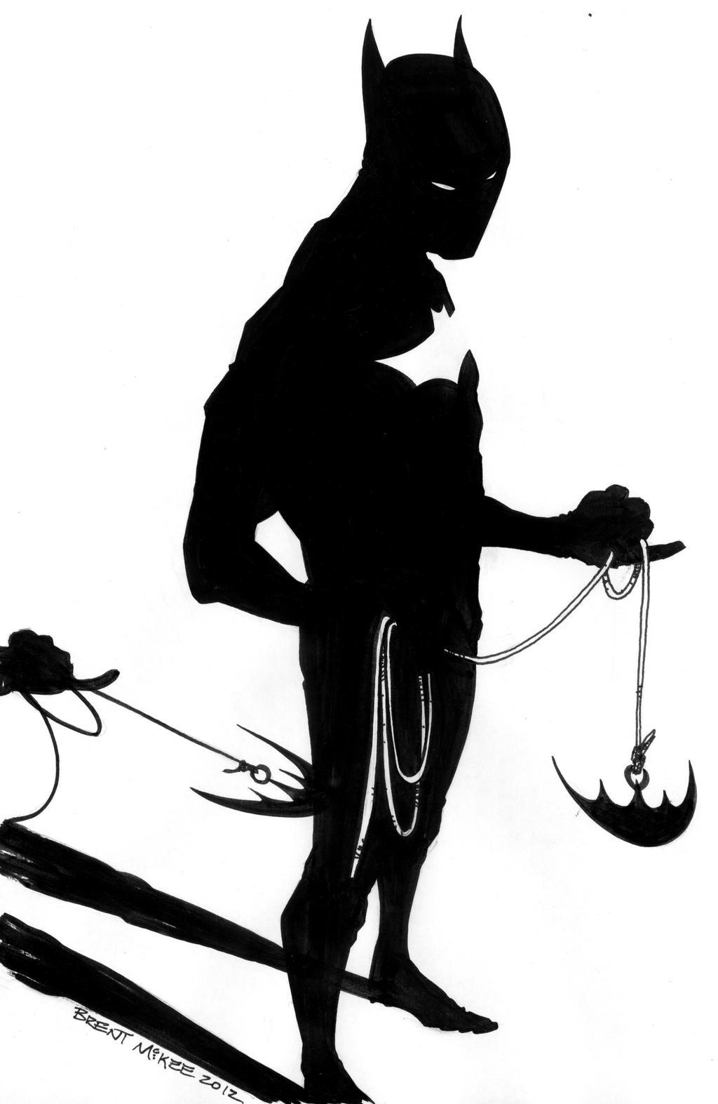 Batman Beyond Sketch by BrentMcKee