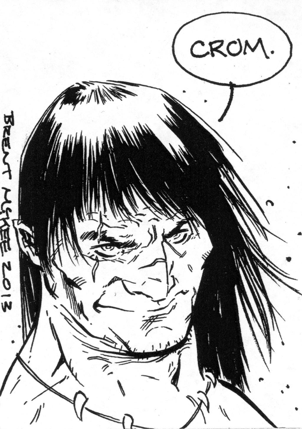Conan Sketch Card 2