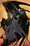 Batman Manbat colored