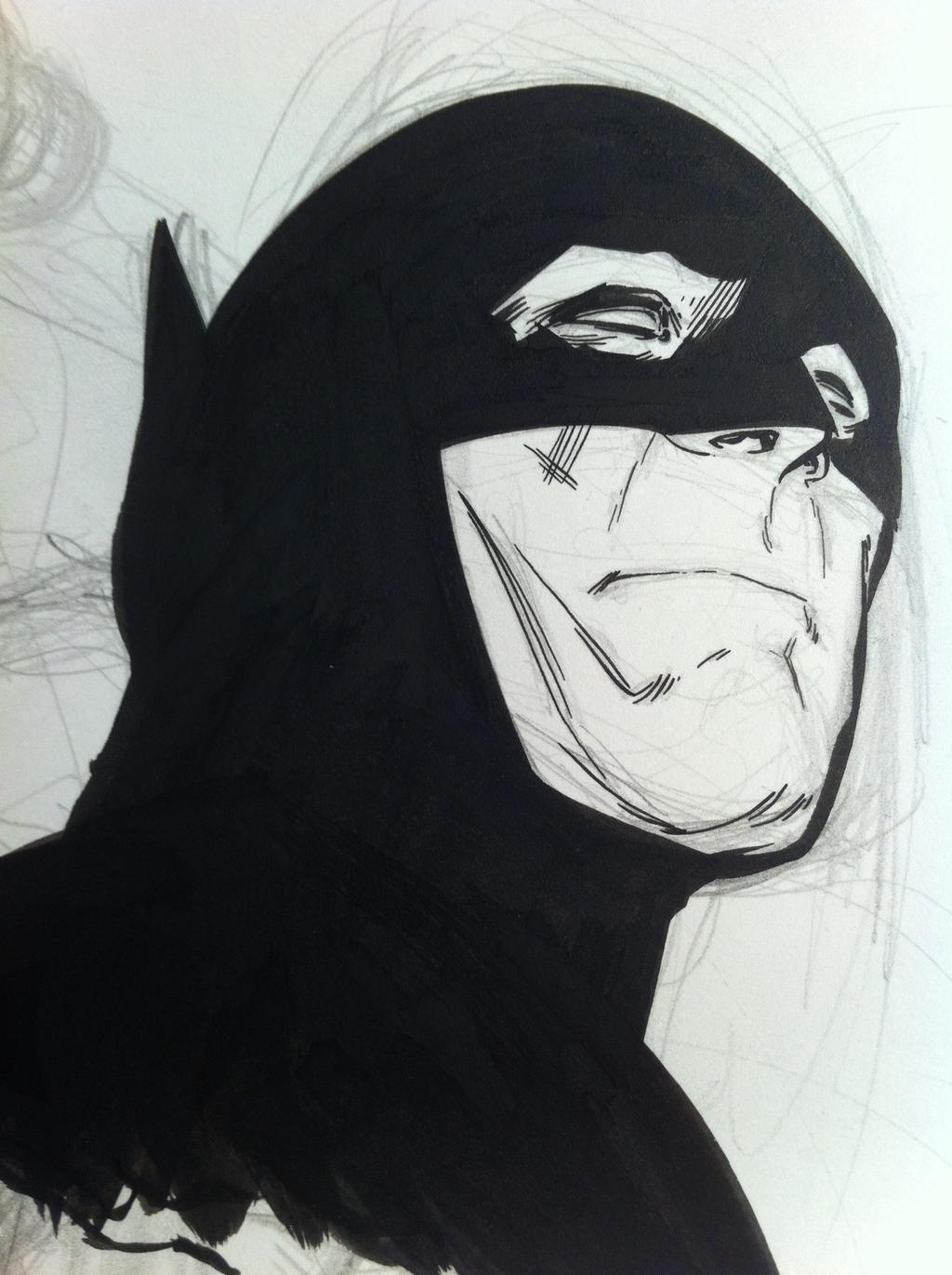 Bat-sketchin'