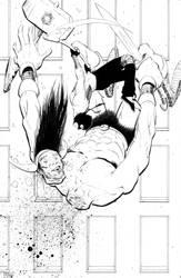 Super-ego Pinup by BrentMcKee