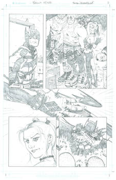 Batman Arkham Knight pg 3 sample