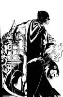 Batman Gargoyle by BrentMcKee