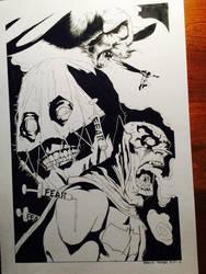 Scarecrow Batman II by BrentMcKee