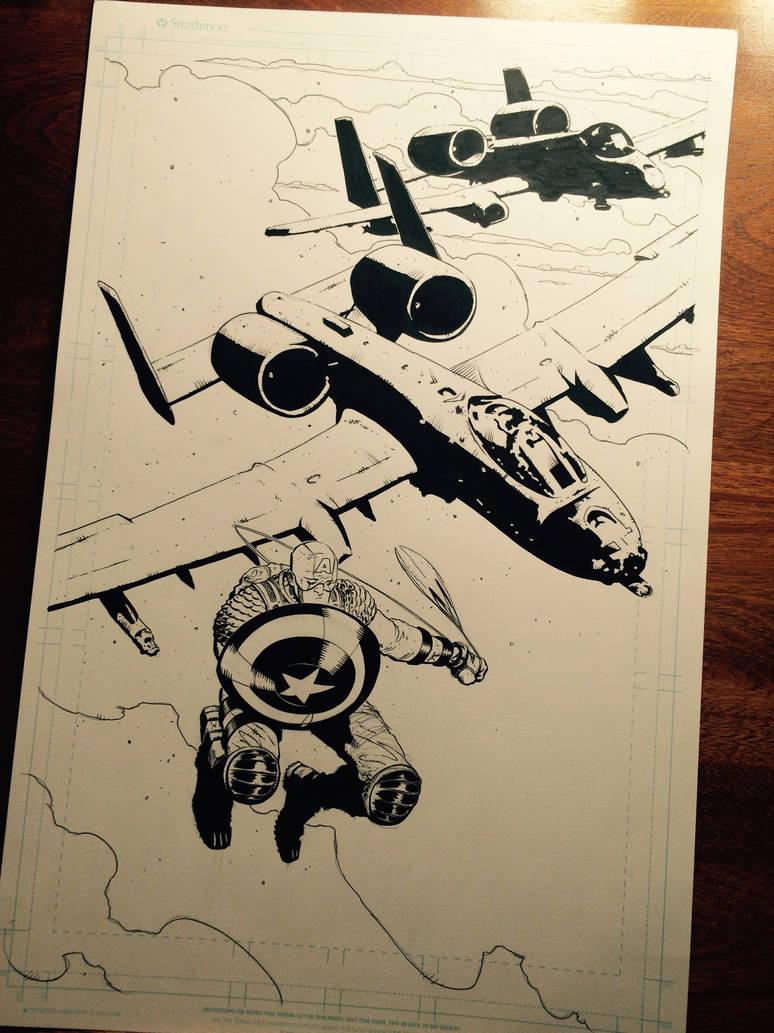 Captain America  by BrentMcKee