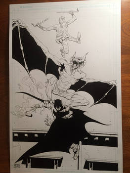 Daredevil Batman and manbat